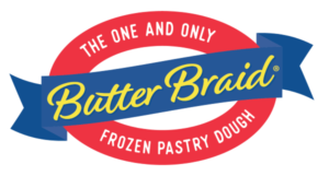 school fundraising program - butter braid logo